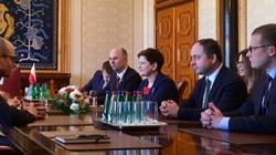 Premier Beata Szydło w Tallinie - miniaturka
