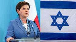 Szydło w Izraelu: Polska przeciw antysemityzmowi - miniaturka
