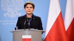 Beata Szydło ostro do opozycji: stajecie po stronie zdrajców i ludzi bez honoru  - miniaturka