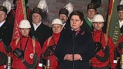Beata Szydło:  Zawsze będziemy bronić praw obywateli do tego, by czuli się bezpieczni w swojej Ojczyźnie - miniaturka