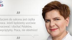 Konwencja PiS: Szydło: Nie będę nigdy ulegać poprawności politycznej - miniaturka
