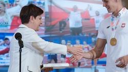 Premier Szydło pogratulowała naszym bohaterom mistrzostw Europy - miniaturka