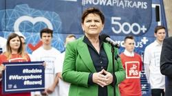 Beata Szydło: Mamy determinację, by dobry czas dla Polski trwał - miniaturka