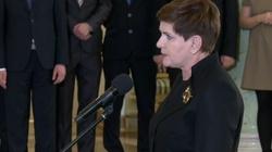 Co powiedziała po nominacji nowa premier Polski? - miniaturka