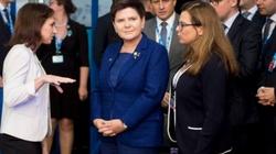 Premier Szydło w Tallinie. O czym rozmawiała z premier May? - miniaturka