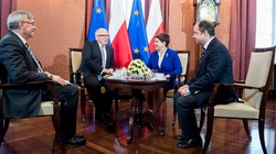 Szydło: Zgodziliśmy się, że Polska musi rozwiązać spór sama! - miniaturka