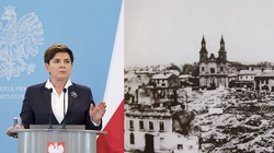 Premier Beata Szydło: Tu, w Wieluniu, trzeba powiedzieć głośno - nigdy więcej wojny! - miniaturka