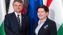Premier spotkała się z przewodniczącym węgierskiego parlamentu - miniaturka