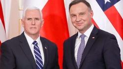 Pence w Warszawie: Nie ma większego zagrożenia niż Rosja - miniaturka