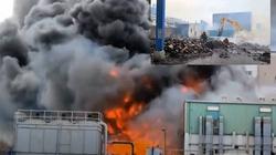 Spłonęła fabryka hydroksychlorochiny pomocnej w leczeniu Covid-19 na Północnym Tajwanie - miniaturka