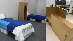 """Tokio. """"By uniknąć zbliżeń"""" - tekturowe łóżka dla olimpijczyków - miniaturka"""