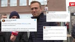 Świat wzywa Rosję do uwolnienia Nawalnego - miniaturka