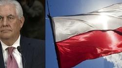 Rex Tillerson gratuluje Polsce. 'USA i Polska są bliskimi przyjaciółmi' - miniaturka