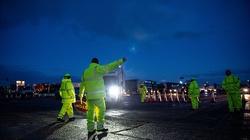 Niektórzy kierowcy są już w drodze do domu - informuje polska ambasada w Wielkiej Brytanii - miniaturka