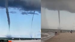[Wideo] Na Bałtyku pojawiły się trąby wodne - miniaturka