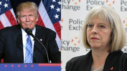 Brytyjczycy nie chcą Trumpa. Rząd: Nie ugniemy się - miniaturka