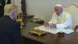 Papież Franciszek przyjął Donalda Trumpa [FILM] - miniaturka