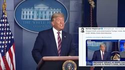Onet zachwycony ocenzurowaniem konferencji prezydenta Trumpa. Ostre komentarze publicystów i internautów - miniaturka