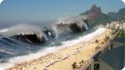 Tsunami zniszczyło wszystko oprócz maryjnej bazyliki - miniaturka