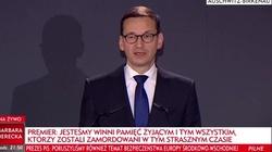 Premier Morawiecki: W Yad Vashem brakuje jednego, najważniejszego drzewa... - miniaturka