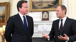 Tusk po spotkaniu z Cameronem: Fiasko - miniaturka