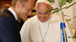 Wiemy, o czym Tusk rozmawiał z papieżem - miniaturka