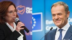 Według najnowszego sondażu większość wyborców Koalicji Obywatelskiej opowiada się za zastąpieniem kandydatury Małgorzaty Kidawy-Błońskiej kandydaturą Donalda Tuska - miniaturka
