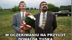 Internauci skomentowali przyjazd Tuska, NAJLEPSZE MEMY - miniaturka