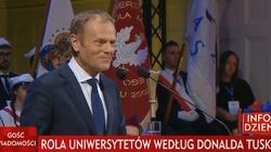 Cyniczny pokaz Tuska na Uniwersytecie w Poznaniu - miniaturka