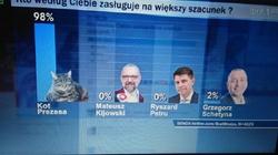 Lepszy Kot Prezesa, niż liderzy opozycji! - miniaturka