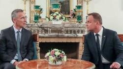 Szef NATO w Polsce - jasny sygnał dla Putina - miniaturka