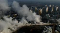 Warszawa SPARALIŻOWANA po awarii sieci ciepłowniczej - miniaturka