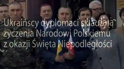 PIĘKNE życzenia od ukraińskich dyplomatów dla każdego Polaka! - miniaturka