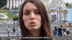 Ukraińska młodzież do Polaków w rocznicę Wołynia - miniaturka
