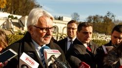 Waszczykowski: Polska jest zdumiona polityką Ukrainy - miniaturka