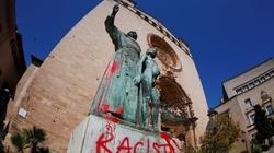 USA: Modlitwa i egzorcyzm przed obalonym pomnikiem św. Junipera - miniaturka