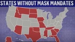 USA. Teksas znosi całkowicie obostrzenia ws. Covid 19. Ludzie palą maski - miniaturka