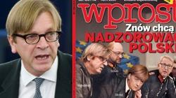 Co za tupet! Polakożerca Verhofstadt ogłasza, że nas nie przeprosi - miniaturka