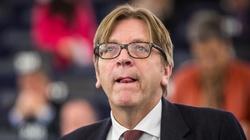 Verhofstadt w PE atakuje Czarneckiego i przeprasza Thun 'w imieniu wszystkich kolegów' - miniaturka