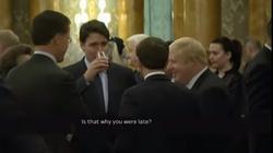 Szczyt NATO: Macron i Trudeau śmiali się z Trumpa. Jest odpowiedź - miniaturka