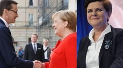 Merkel przeprasza Morawieckiego za Beatę Szydło - miniaturka