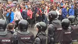 Masowe protesty w Rosji. Mają dość Putina - miniaturka
