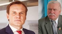 Dominik Tarczyński dla Frondy: Niech Wałęsa odepnie wizerunek Matki Boskiej z klapy! - miniaturka