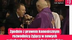 Komunia święta to 'łykanie wafelków'? Dziwny wpis na profilu katolika Wałęsy...  - miniaturka