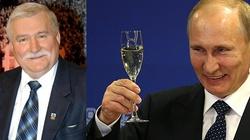 Lech Wałęsa chwali swoich przyjaciół Moskali - miniaturka