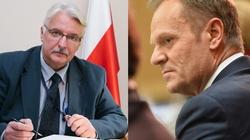 Waszczykowski: Być może Tusk doszedł wreszcie do jakiejś refleksji - miniaturka
