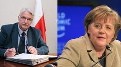 Szef MSZ: Merkel prowadzi politykę przewidywalną, dobrą dla Polski - miniaturka