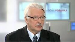 Waszczykowski: Jedziemy do Moskwy rozmawiać o Smoleńsku - miniaturka
