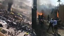 Bagdad: Demonstranci wdarli się do ambasady USA. Konieczna była ewakuacja - miniaturka