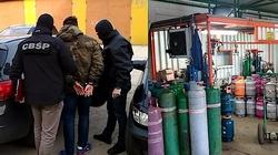 Cela Plus: Wielka obława CBŚP na oszustów podatkowych, zatrzymano 11 osób. Sprzedawali gaz grzewczy jako LPG - miniaturka